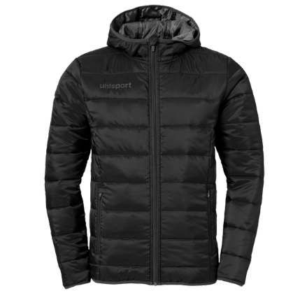 Essential Ultra Lite Down Jacket Black / Anthra